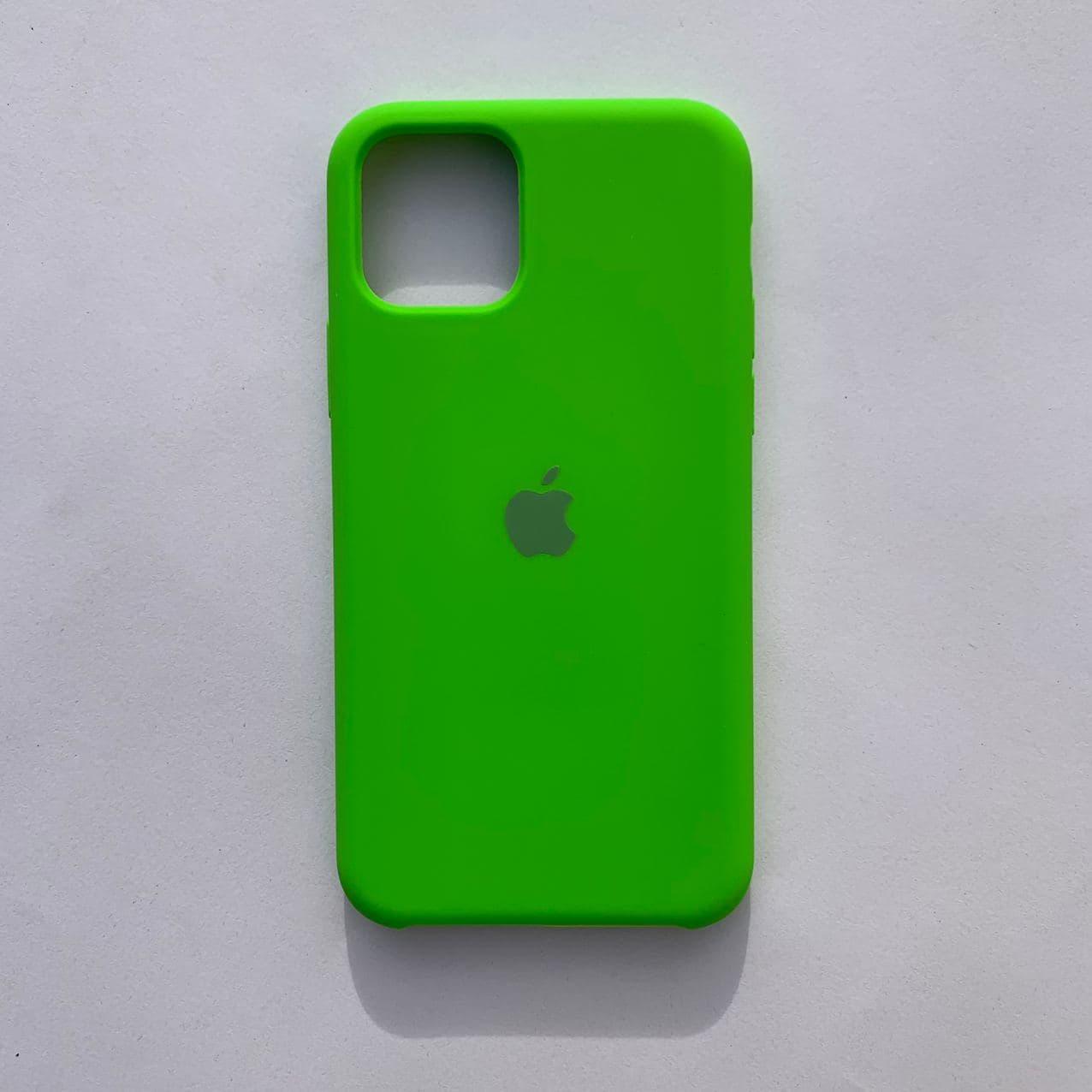 Накладка Silicone Case для Apple iPhone 11 Pro Dark Green