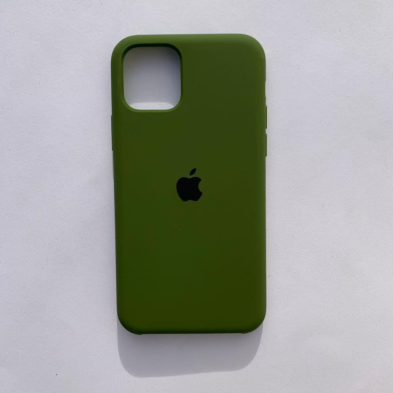 Накладка Silicone Case для Apple iPhone 11 Pro Pinery Green