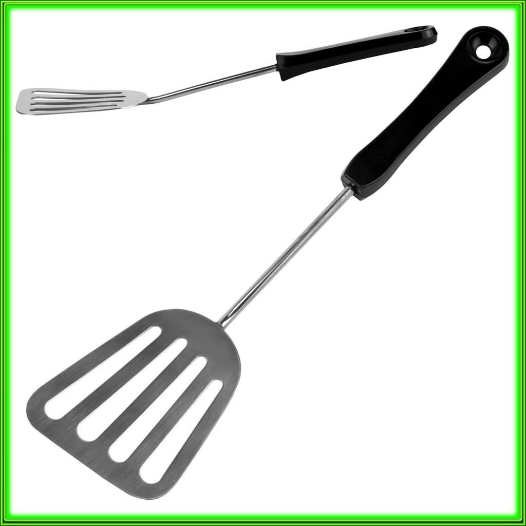 Лопатка  кухонная с карболитовой ручкой L27,5см ручка 19см ширина 7см