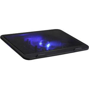 """Охлаждающая подставка для ноутбука DCX-019 до 17"""" с подсветкой Черный (RI0719)"""