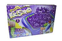 """Кинетический песок с надувной песочницей """"KidSand"""" песочница Danko toys"""
