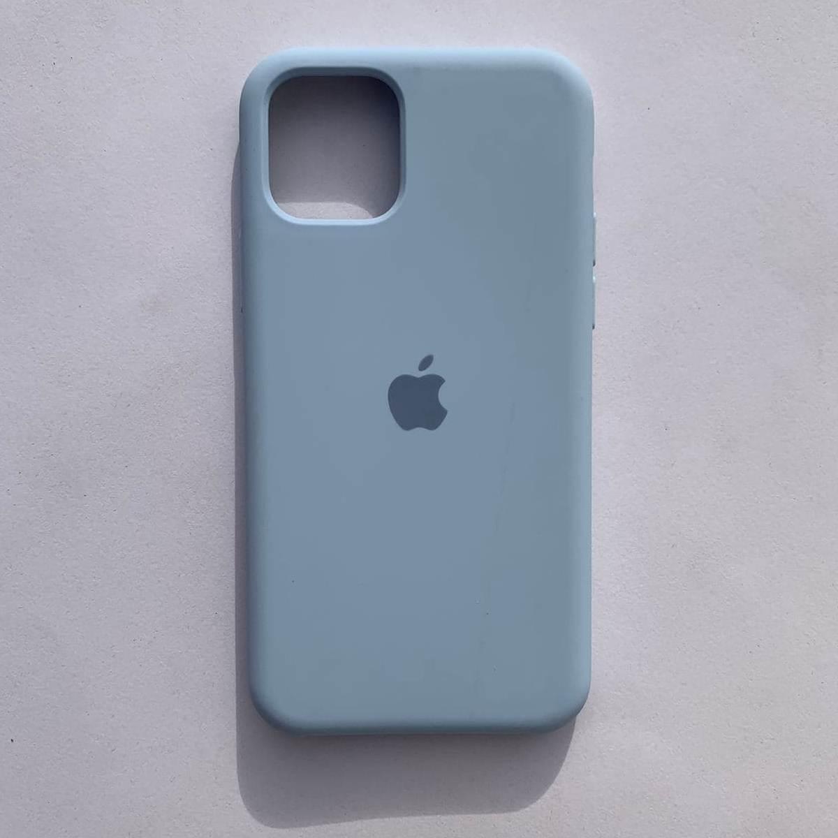 Чехол-накладка Silicone Case для Apple iPhone 11 Lilac