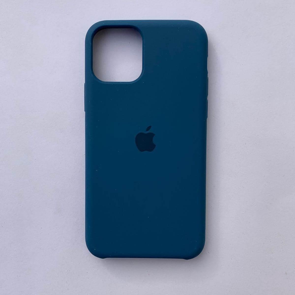 Чехол-накладка Silicone Case для Apple iPhone 11 Ocean Blue