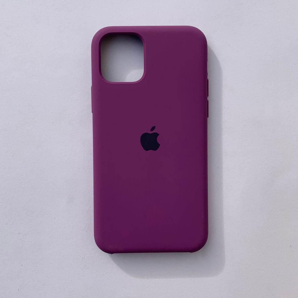 Накладка Silicone Case для Apple iPhone 11 Purple