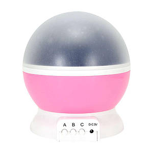 Детский ночник звездного неба Star Master Dream Rotating Pink (hub_np2_1414_1)
