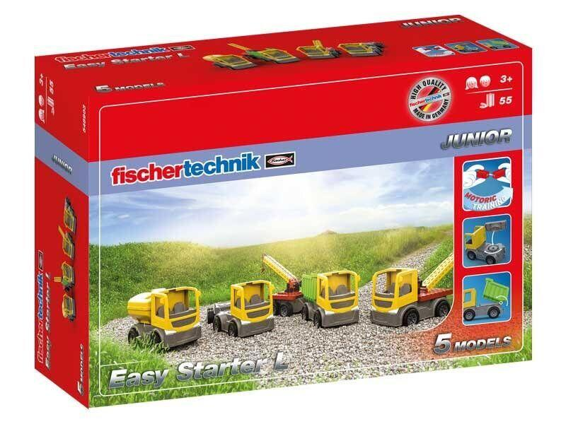 Конструктор fisсhertechnik JUNIOR Easy Starter L