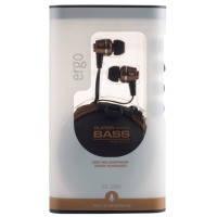 Наушники вкладыши ergo es-200i bronze с микрофоном