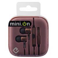 Наушники с микрофоном es-600i bronze minion