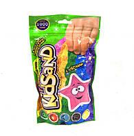 """Кинетический песок 1 кг розовый """"KidSand"""" 1000 г, в пакете Danko toys"""