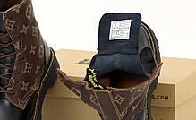 Демисезонные женские ботинки LV & Dr. Martens. ТОП Реплика ААА класса., фото 3