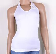 GreeNice майка однотонная через шею (2159) | 6 шт., фото 2