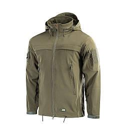 Куртка олива Soft Shell софтшел Olive M-Tac