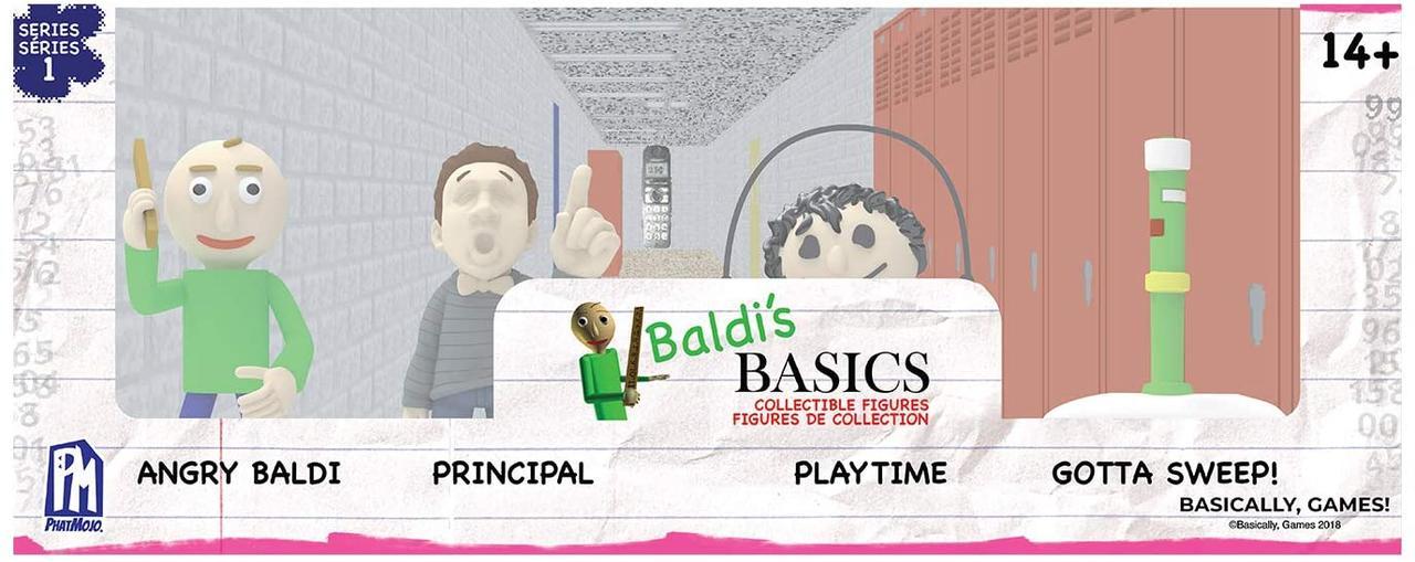 Набор коллекционных фигурок Балди Baldi's Basics оригинал