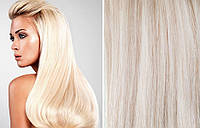 Экстра-светлый блонд 60 тон. 160 грамм, 60 см.