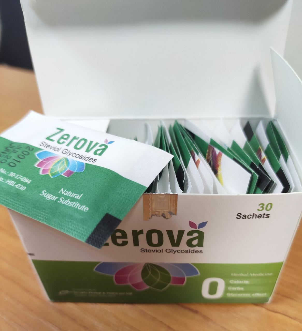 Zerova стевия гликозид, заменитель сахара Бангладеш, 30 саше