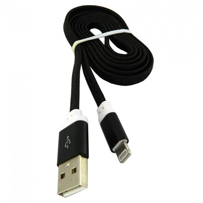 Дата кабель Walker C330 Apple Lightning to USB 1 м Black (hub_znAv77347)