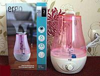 """Увлажнитель воздуха ультразвуковой """"Ergo"""". Защита от бактерий и плесени. Гарантия - 1 год., фото 1"""