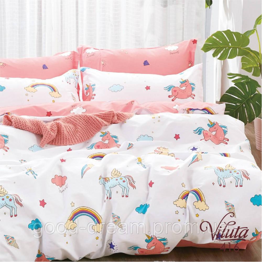 Комплект постельного белья детский Сатин Viluta комплект в детскую кроватку