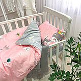 Комплект постельного белья детский Сатин Viluta комплект в детскую кроватку, фото 2