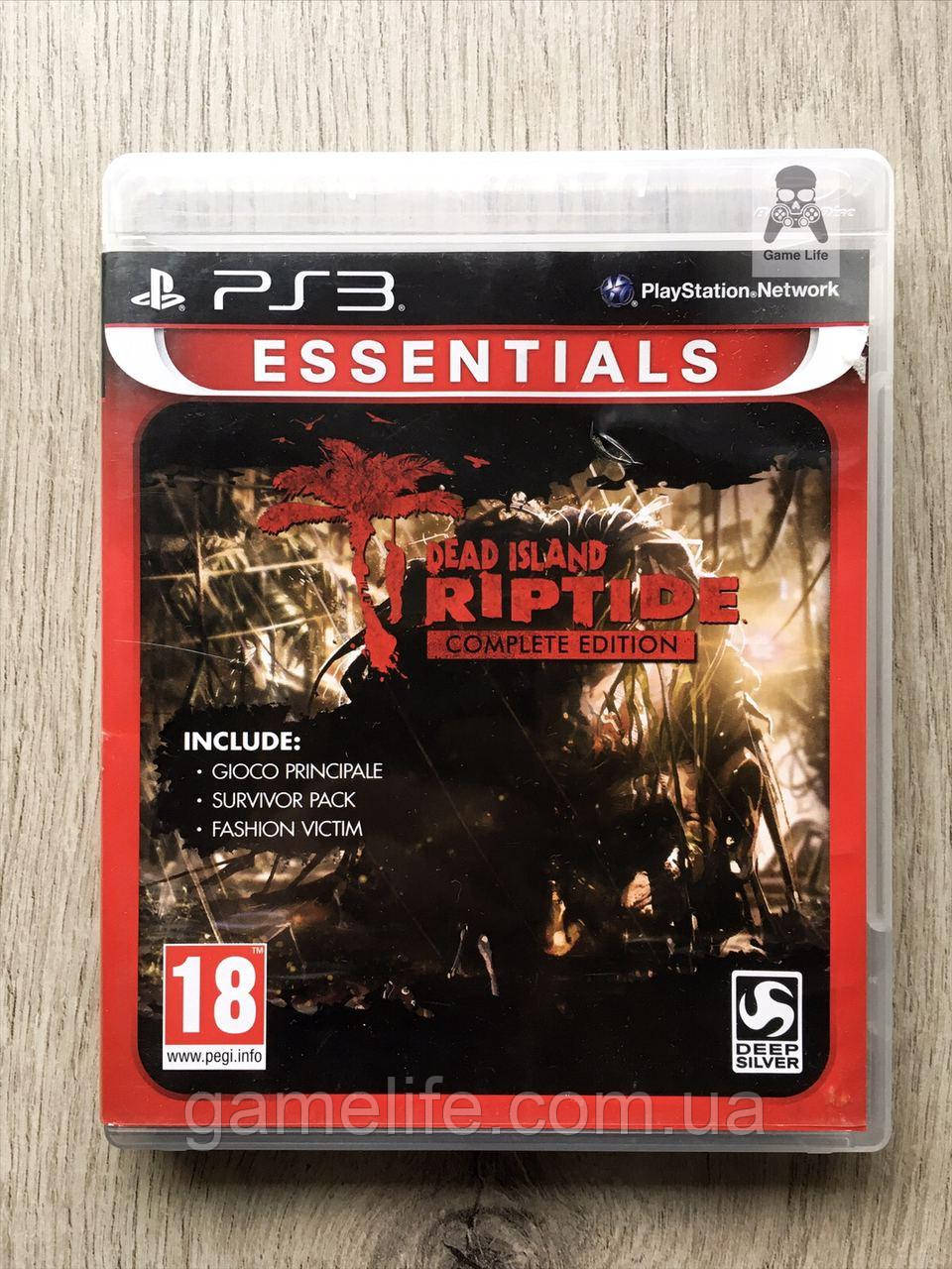 Dead Island Riptide (английская версия) (б/у) PS3