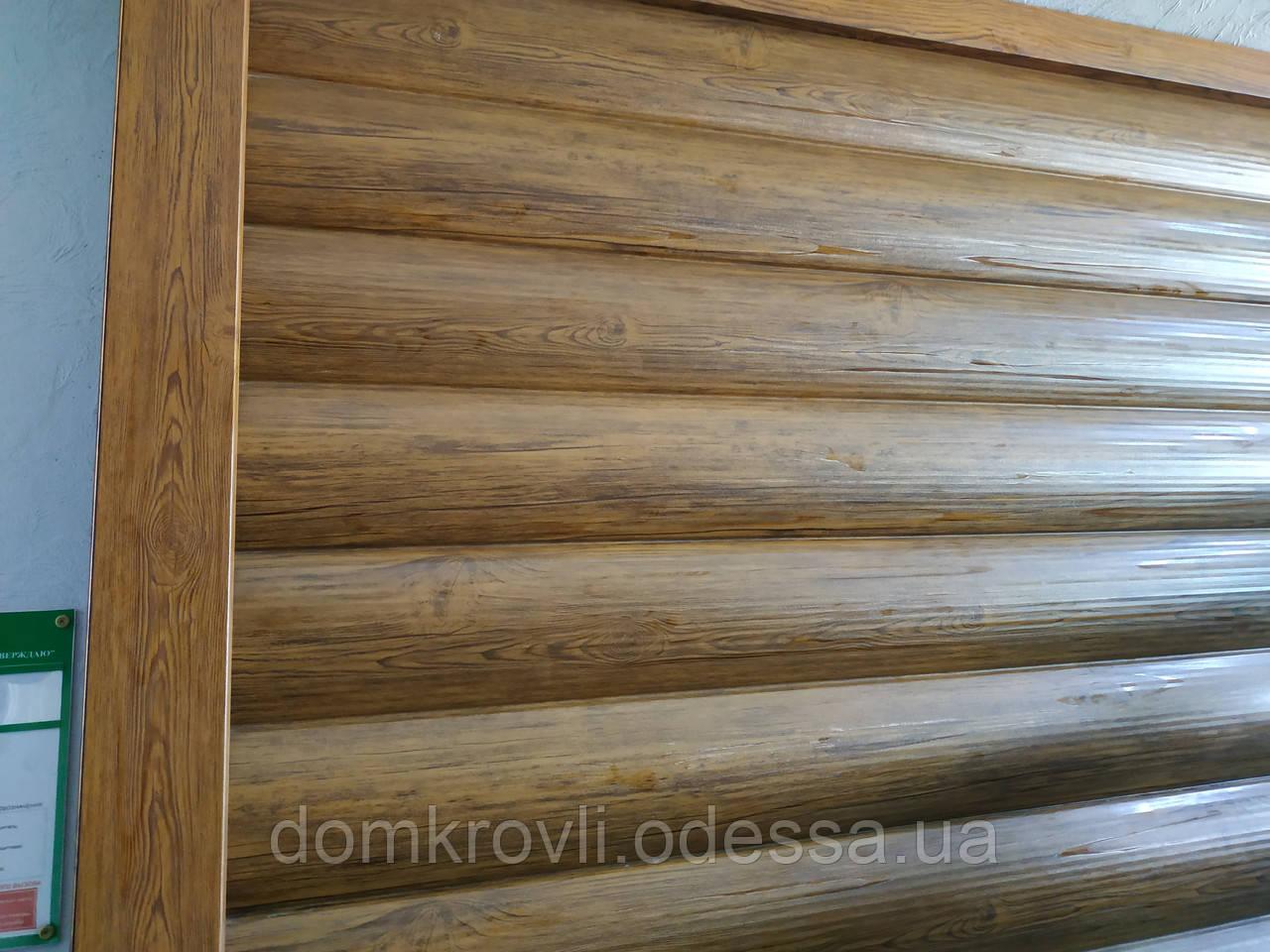Металевий сайдинг, Блок-хаус Колода структурний Структурна сосна