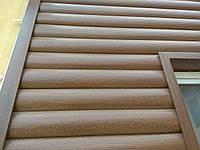 Металевий сайдинг, Блок-хаус Колода Золотий дуб, фото 1