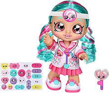 Кукла Кинди Кидс Доктор Синди Попс / Kindi Kids Dr Cindy Pops with Stethoscope and Shopkins Inspired Lollipop