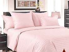 Комплект постельного белья семейный страйп сатин