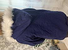 Женская осенне-зимняя Легкая куртка на искусственном меху уценка, фото 3