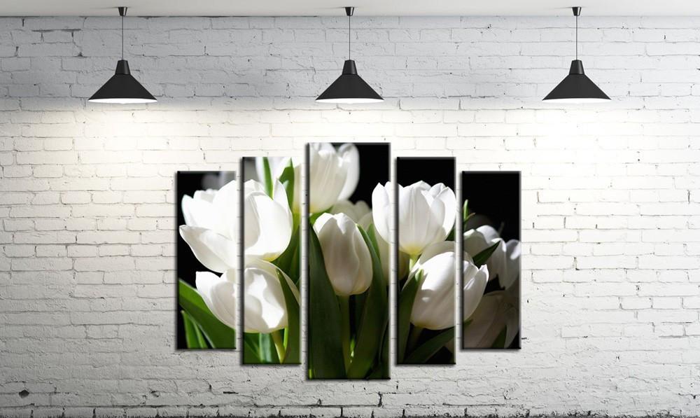 Модульная картина на холсте DK Store из пяти частей (SM5-274)