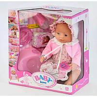 Кукла Пупс функциональный игрушка кукла BL 023 F с 8 аксессуарами