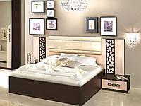 Кровать Селеста 1600 с тумбочками ( Мастер Форм ), фото 1