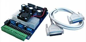 ЧПУ контроллер шаговых двигателей 3-осевой HLV TB6560 (010143)
