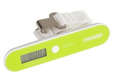 Электронные весы багажные кантер для багажа Mesko MS 8147 Green (006327)