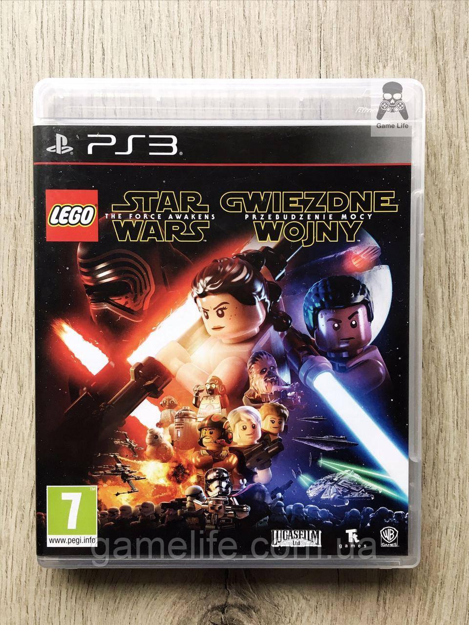 LEGO Star Wars The Force Awakens (английская версия) (б/у) PS3
