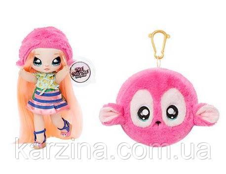 Кукла Na! Na! Na! Surprise 2 серия 2в1 Нина Наннерс обезьянк Оригинал от MGA Entertainment 2-in-1 Fashion Doll