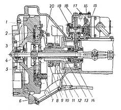 Муфта зчеплення Т-25