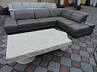 Шкіряний диван , кожаный диван , модерн , куток , кожаний угол
