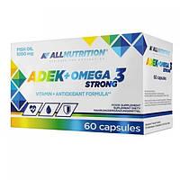 AllNutrition ADEK + Omega 3 Strong softgel 60