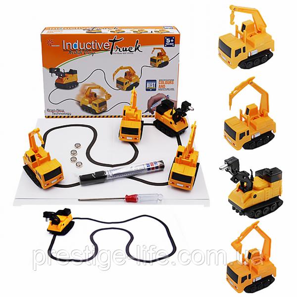 Индуктивный игрушечный автомобиль Inductive Truck индуктивная машинка