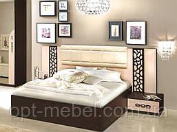 Ліжко Селеста 1800 з тумбочками ( Майстер Форм )