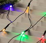 Электрическая гирлянда Сетка 100 LED прозрачная 1.2 м * 1.2 м, мульти, фото 2