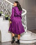 Платье фиолет, фото 3