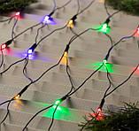 Электрическая гирлянда Сетка 100 LED прозрачная 2 м * 1.5 м, мульти, фото 5