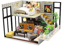 Интерьерный 3D конструктор DIY mini house MD 2503 M031