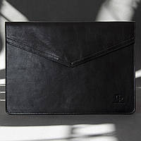 Шкіряний чохол для MacBook 12', чорний
