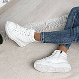 Высокие кроссовочки Материал эко-кожа Сезон зима  В5511, фото 9