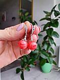 Комплект ′Розовый коралл′: бусы и серьги., фото 8