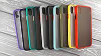TPU чехол MATT для Apple iPhone XS Max