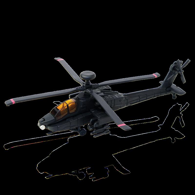 Объемный пазл 4D MASTER Военный вертолет AH-64 Black Apache